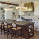 custom home open kitchen design