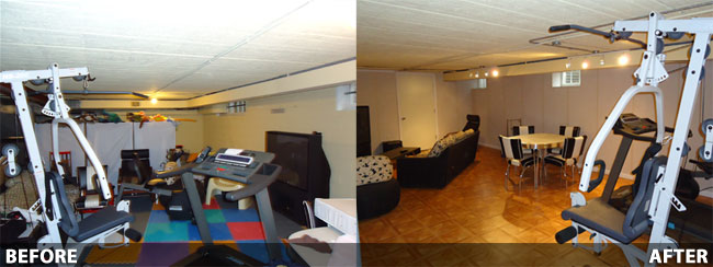 Basement Remodeling Ideas Before And After 10 inspirational basement remodels before after