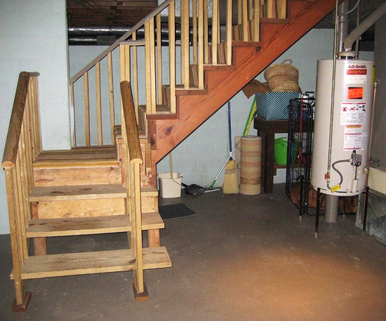 Before- Basement