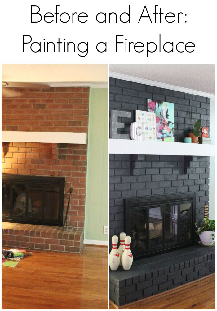 Basement Fireplace Remodel