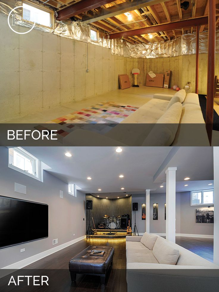 48 Inspirational Basement Remodels Before And After [Pictures] Impressive Basement Remodels
