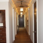 hall-way- design- rustic-brick
