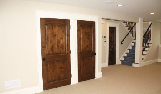double-closet-remodel-basement