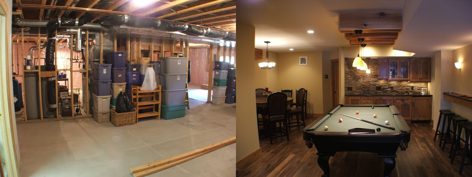 10 inspirational basement remodels before and after pictures rh treasuredspacesinc com Small Basement Makeovers basement remodeling ideas photos before and after