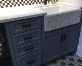 custom home laundry room