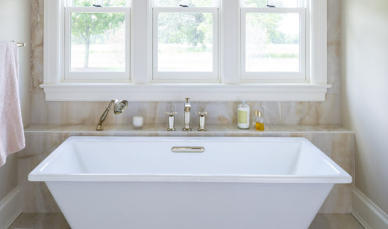 custom home bath