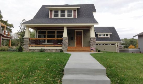 front porch exterior remodel