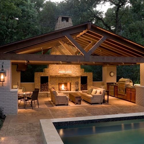 10 Inspirational Outdoor Living Spaces Blog Treasured