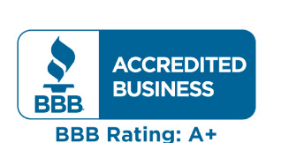 A+ BBB Rating - Treasured Spaces
