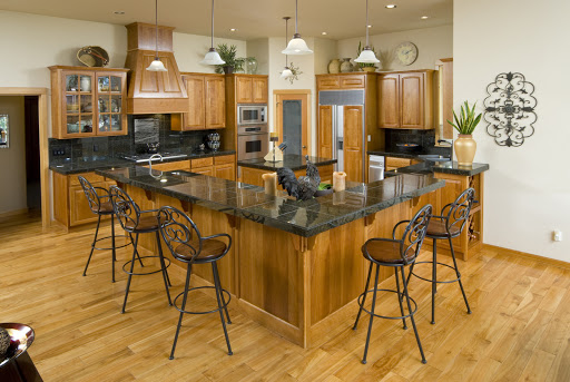 L-shaped-kitchen-island