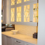Custom Home Kitchen Storage