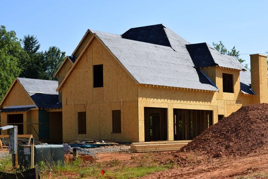 Custom home building project