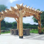 Pergola custom build - treasured spaces