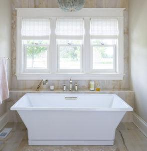 custom home bath