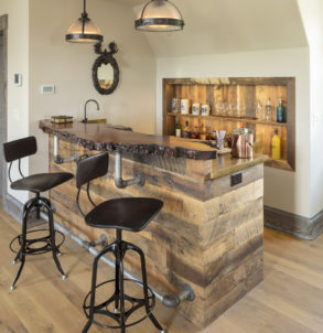 Custom Built Bar- Specialty Project