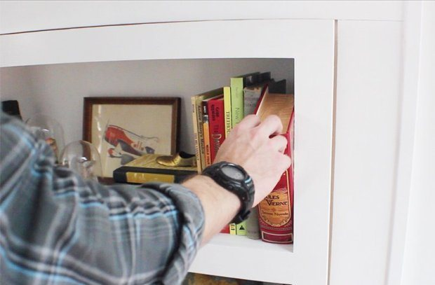 Building a Hidden Door in a Wall? | Ideas, Pictures and More