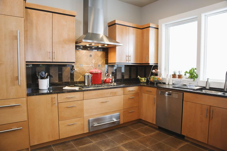 wooden kitchen countertops