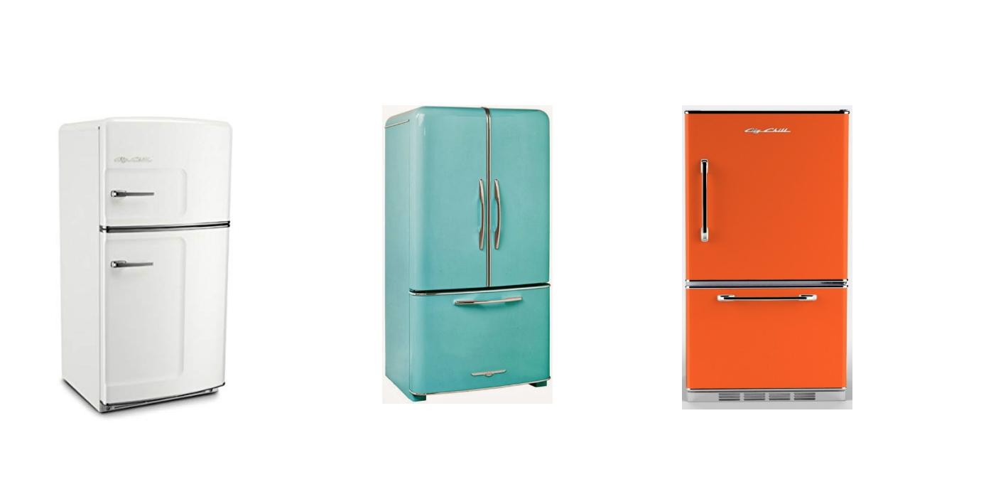 mid century modern kitchen design and refrigerators