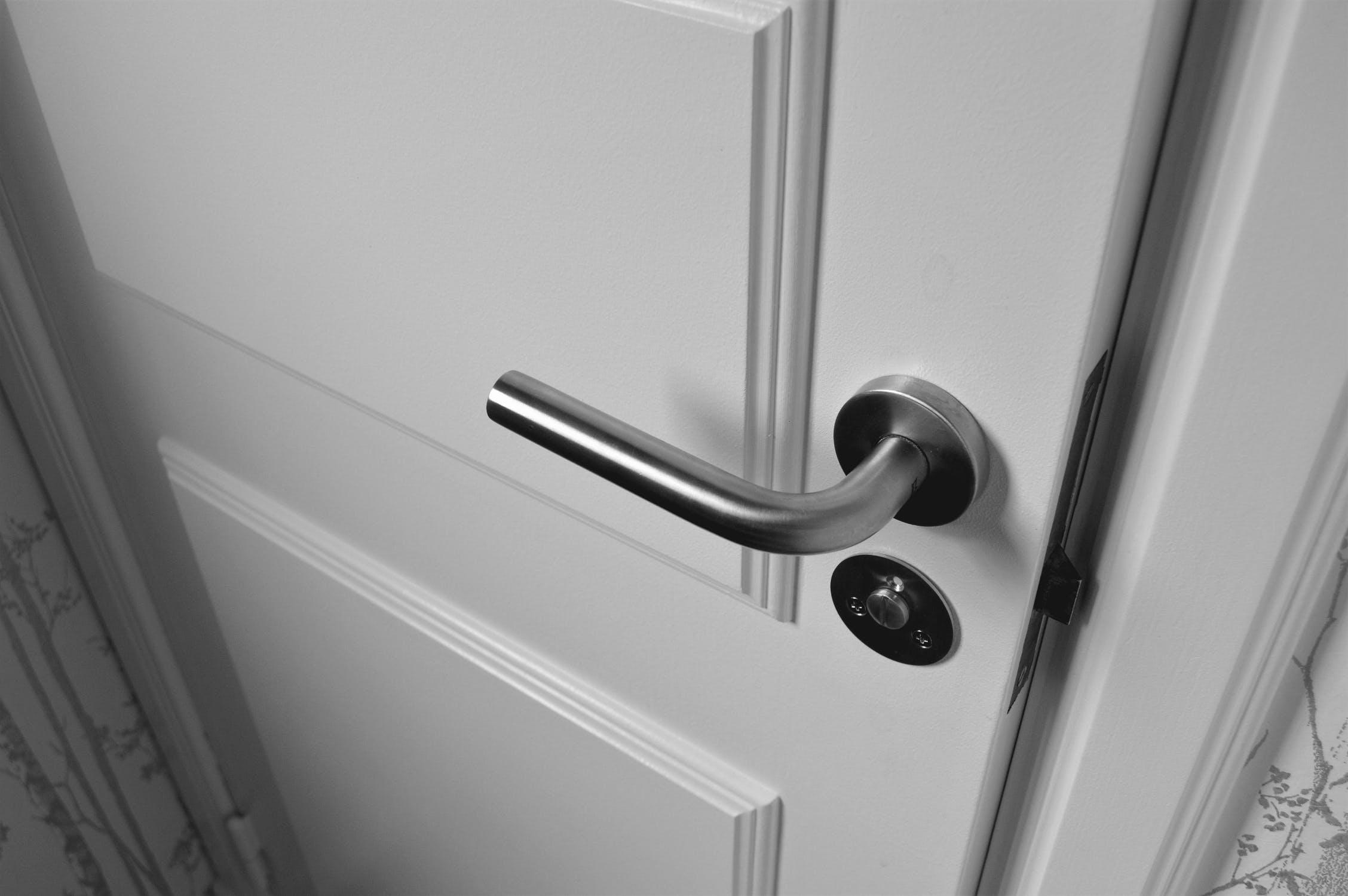door handle interior