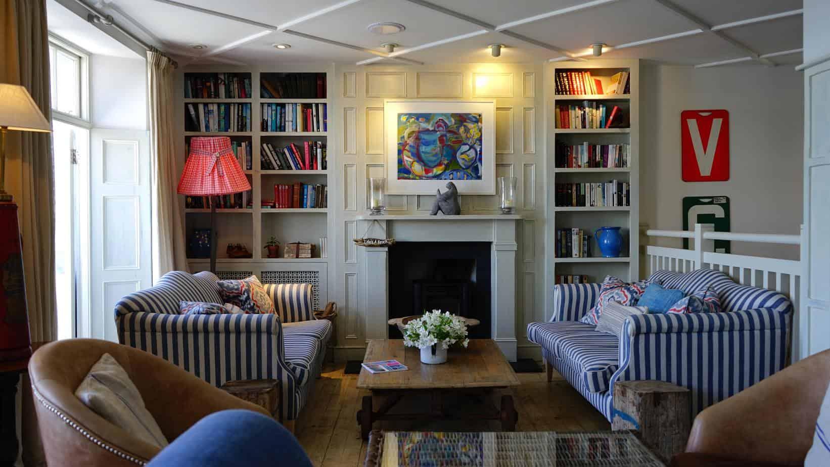 finished basement fireplace, living room